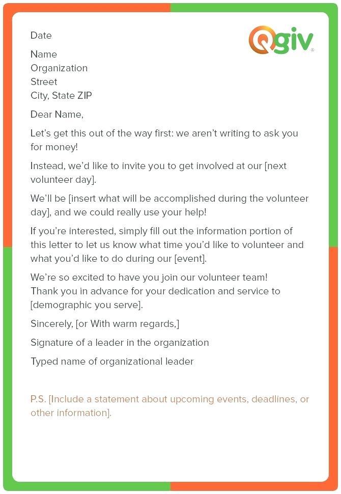 501c3 Donation Request Letter Template