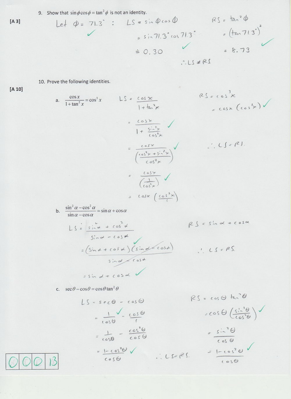 Analytic Geometry Grade 10 Worksheets