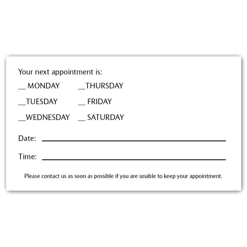 Appointment Reminder Template In Spanish
