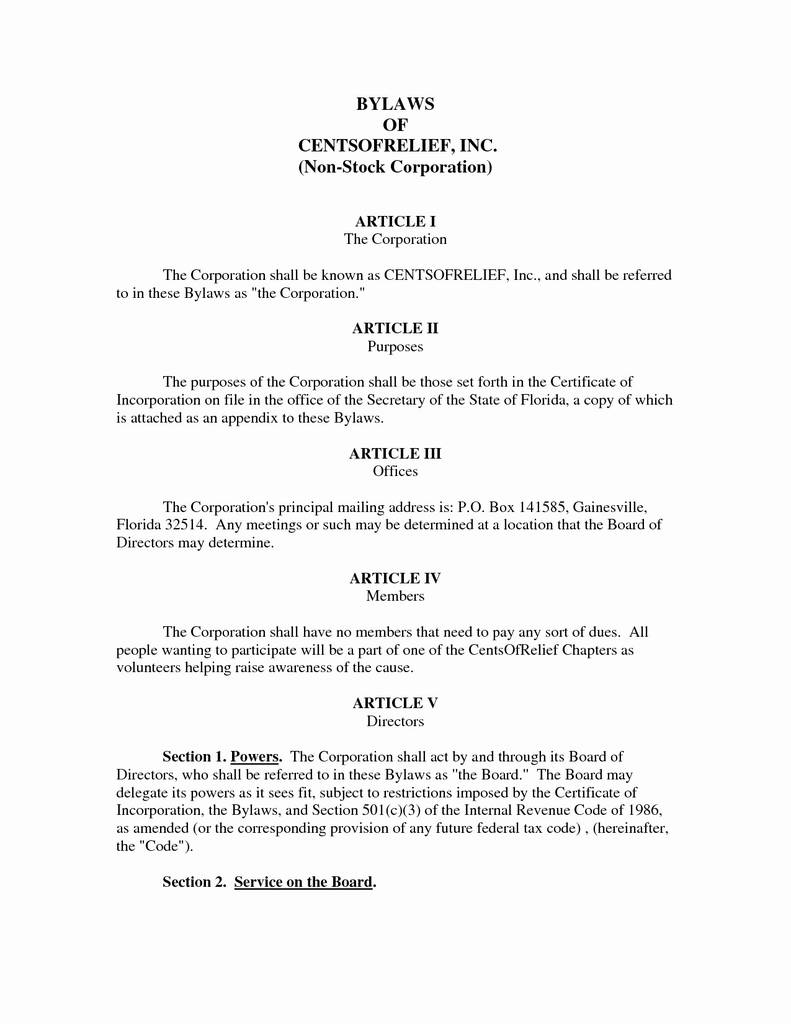 Alabama Articles Of Incorporation Form New Georgia Llc Articles Organization Template Best Articles