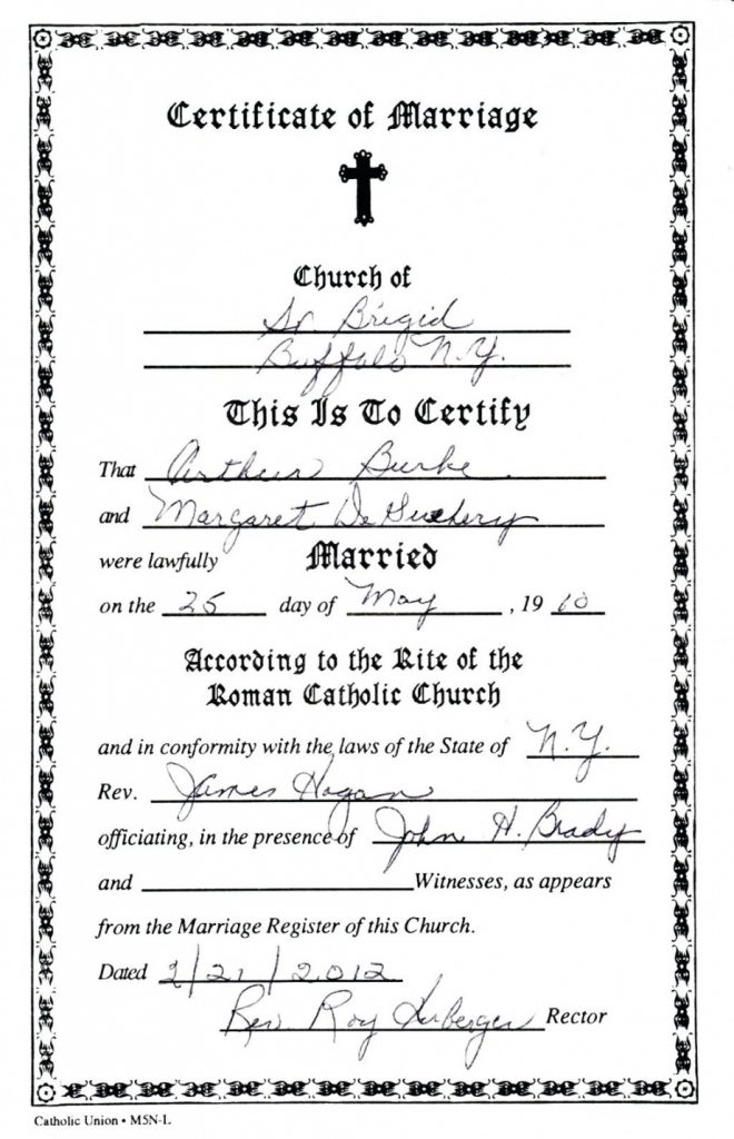 Baptism Certificate Template Fillable