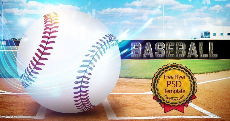 Baseball Flyer Template Free
