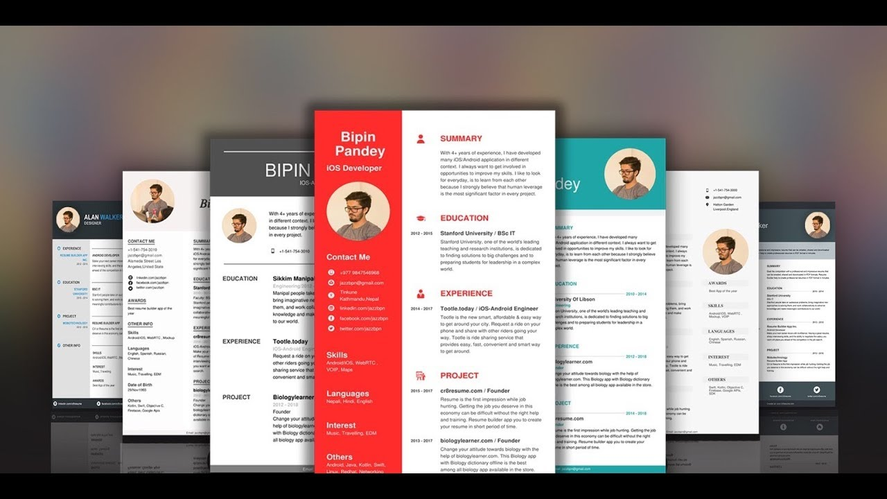 Best Resume Builder App 2019
