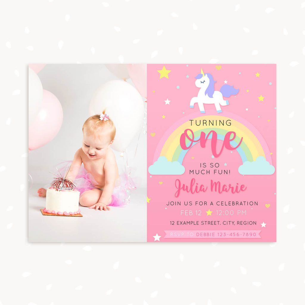 Birthday Invitation Templates With Photo