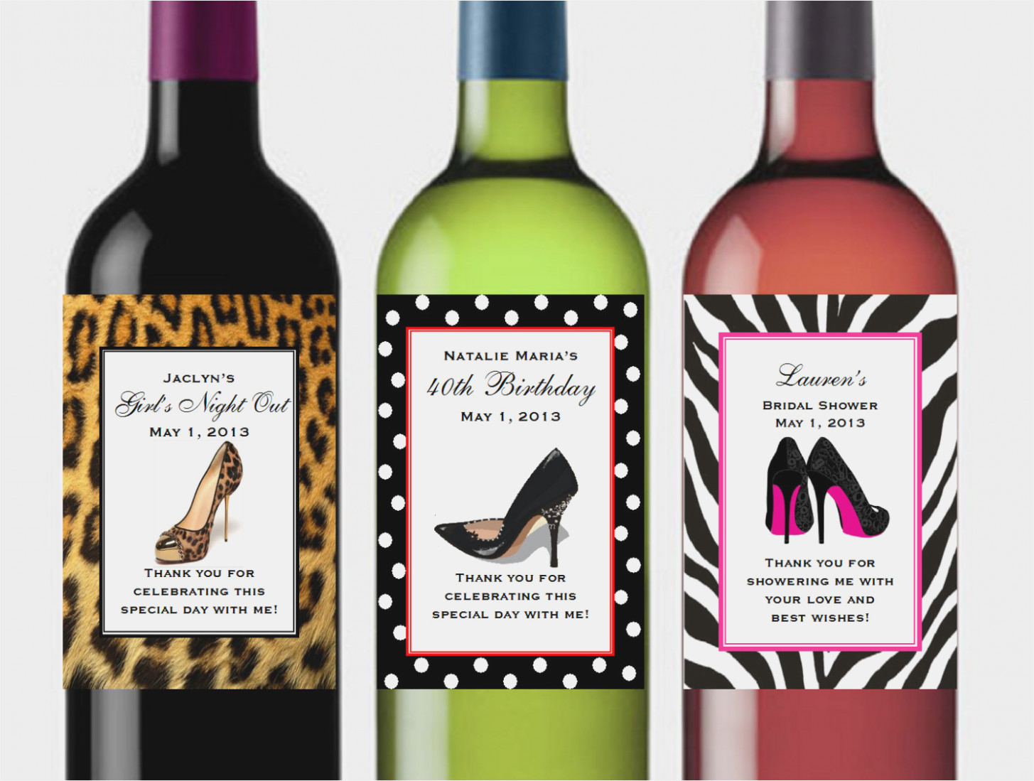 Birthday Wine Label Template Free