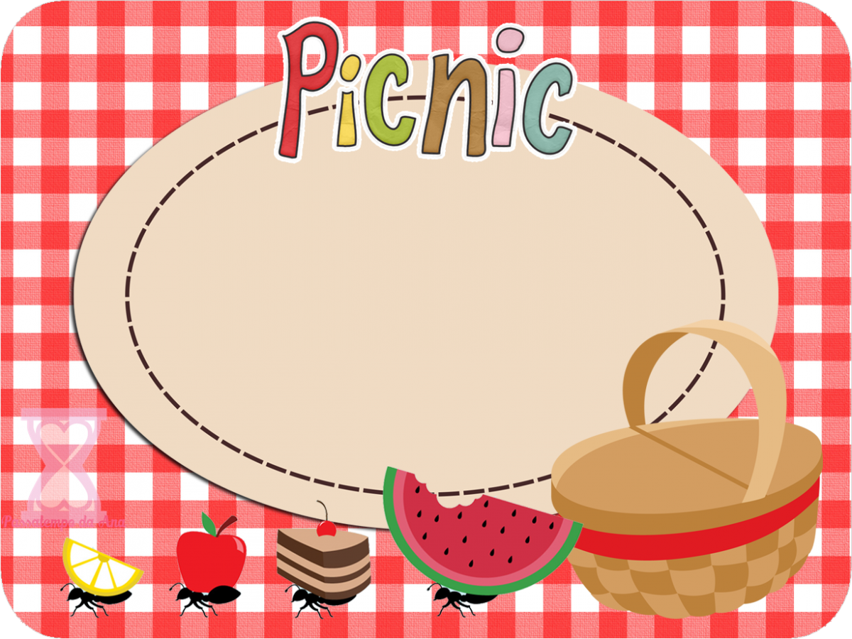 Blank Picnic Invitation Template