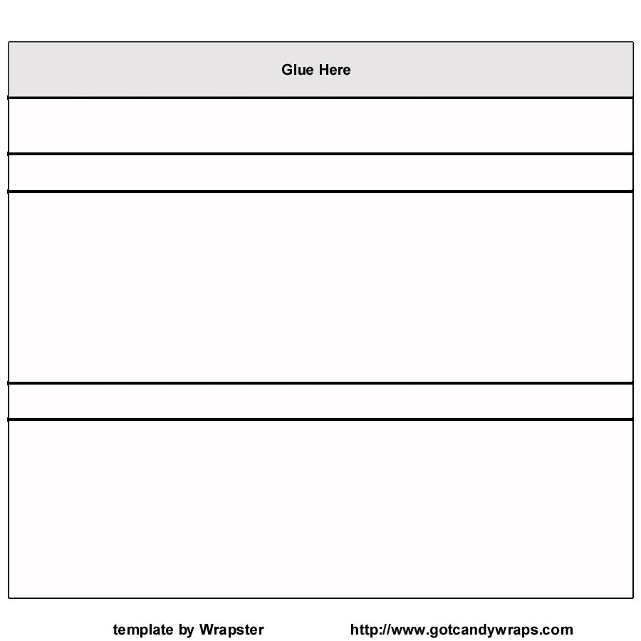 Candy Bar Wrapper Template Free Printable