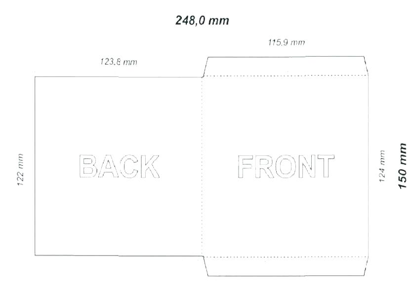 Cd Paper Sleeve Template