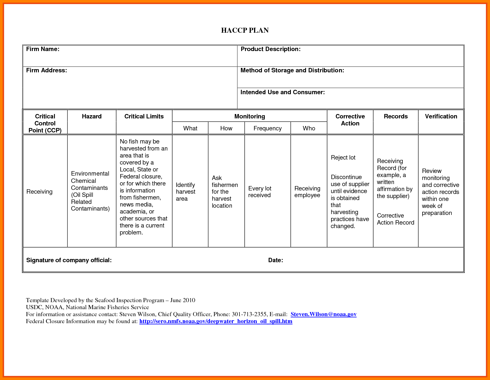 Corrective Action Plan Template For Employee