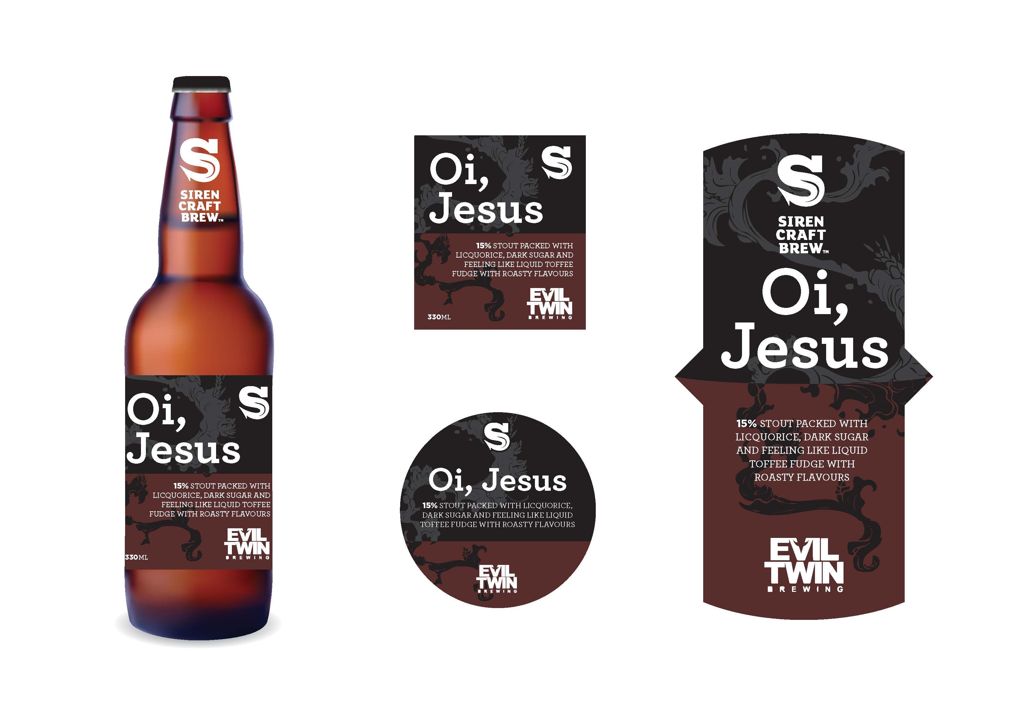 Craft Beer Label Template
