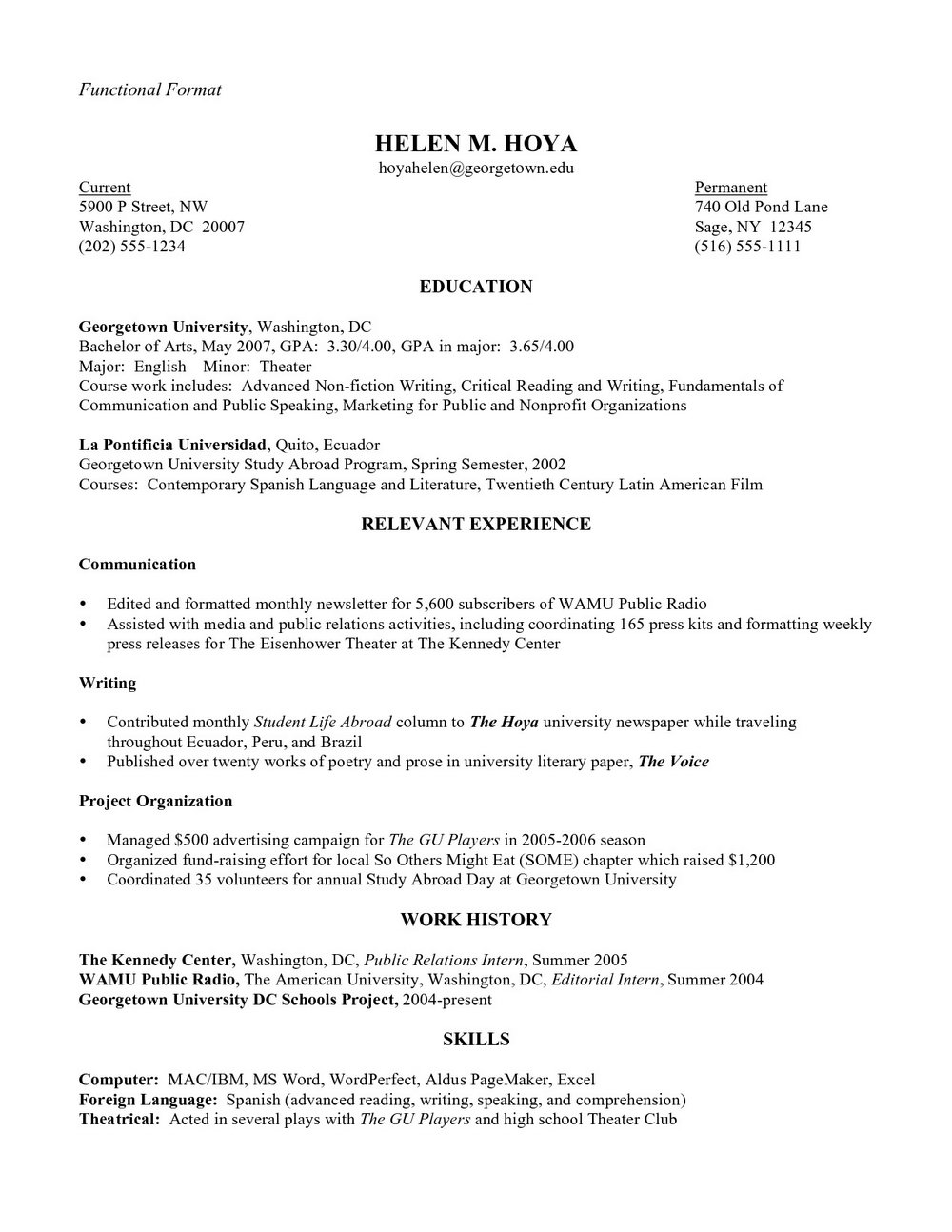 Customer Service Resume Samples Free Word