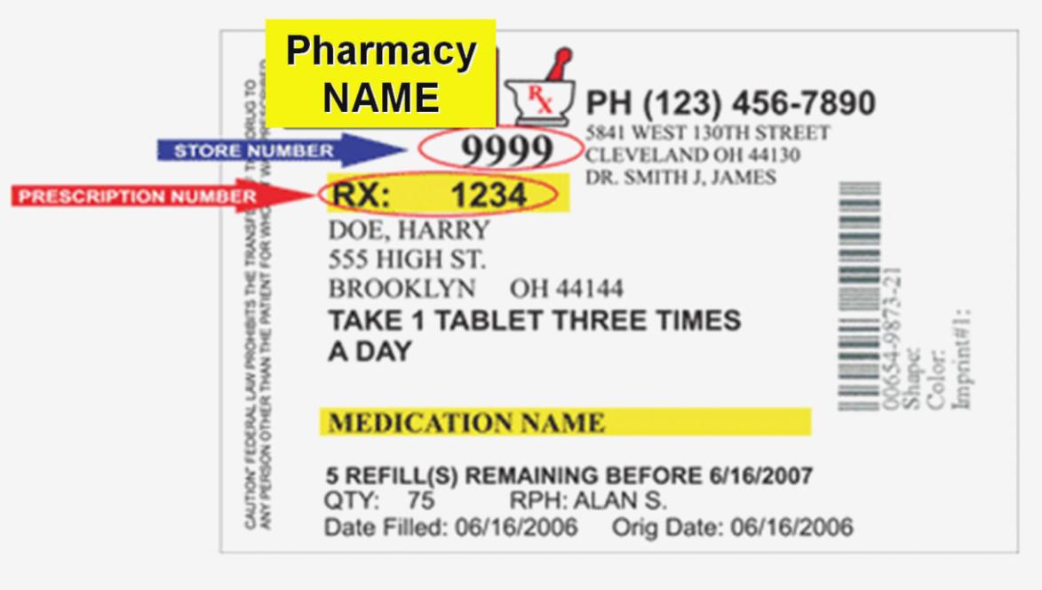 Cvs Prescription Label Template