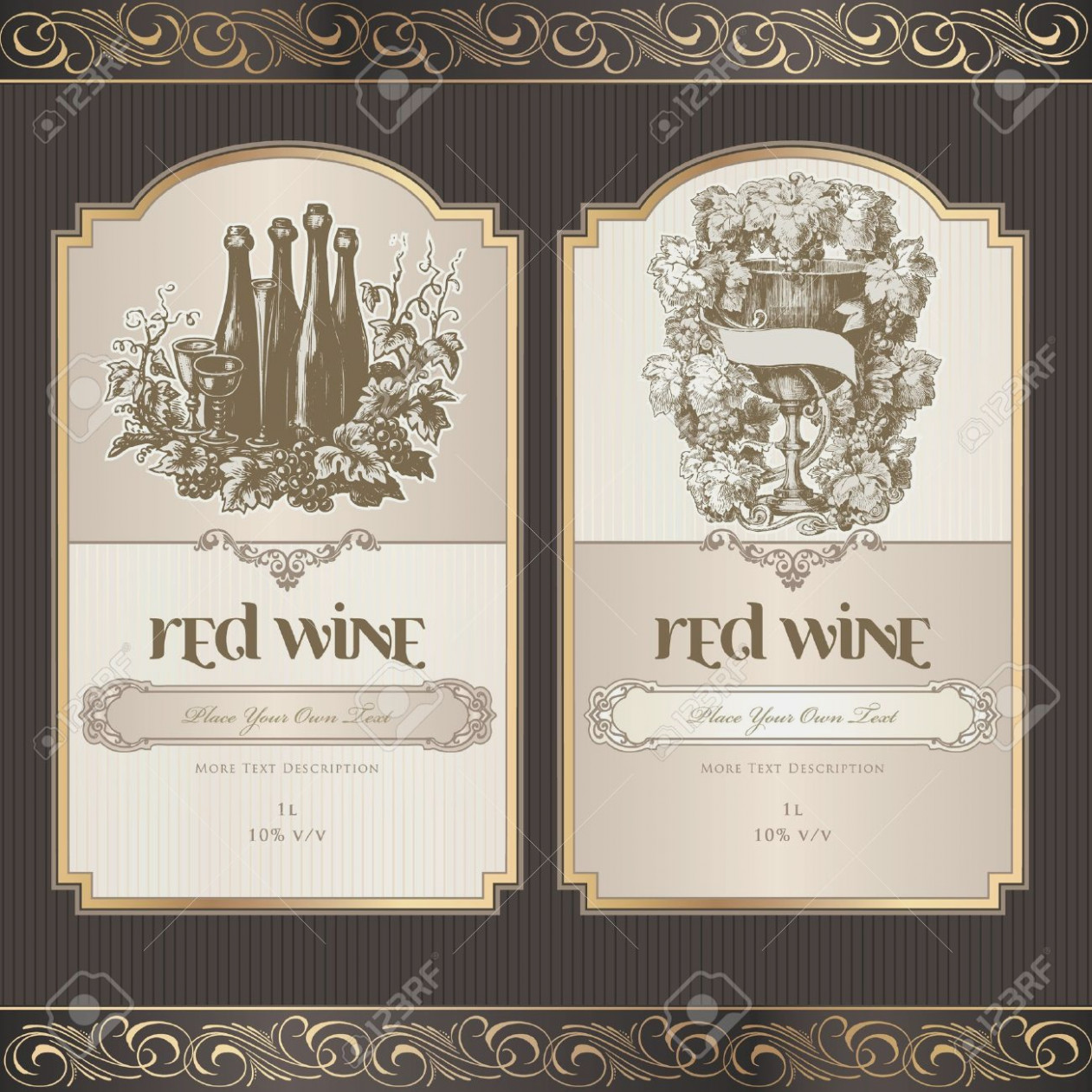 Downloadable Free Wine Label Template