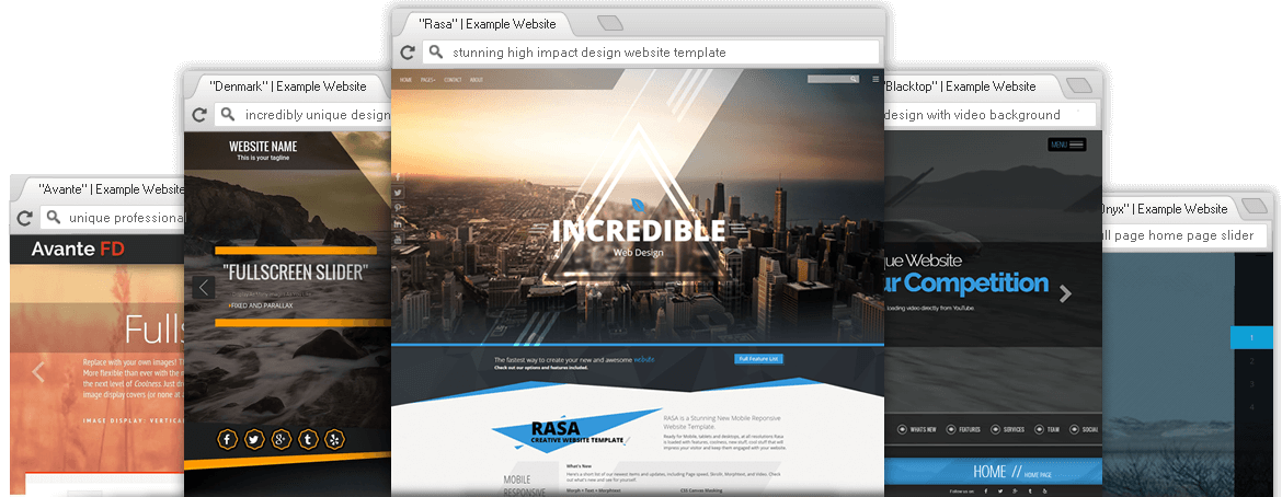 Dreamweaver Website Templates Responsive