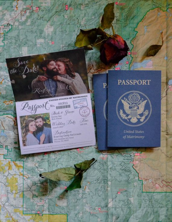 Editable Passport Invitation Template