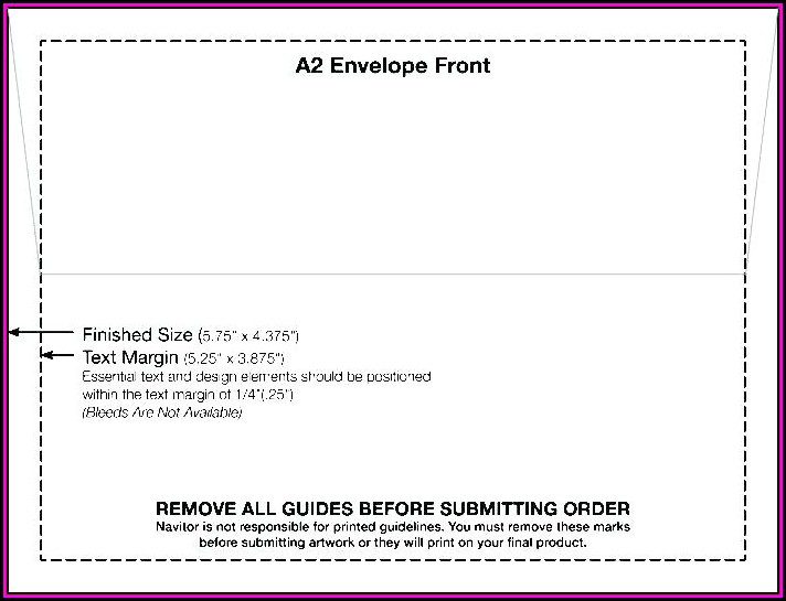 Envelope Printing Template Word