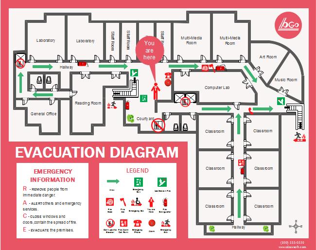 Evacuation Plan Template Free