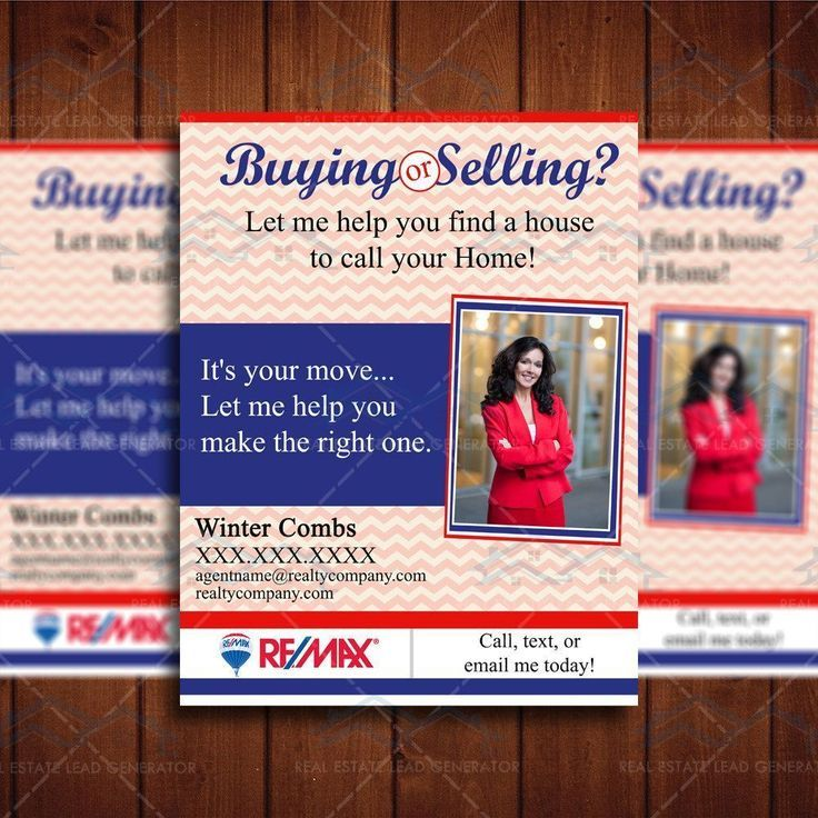 Flyer Realtor Brochure Template
