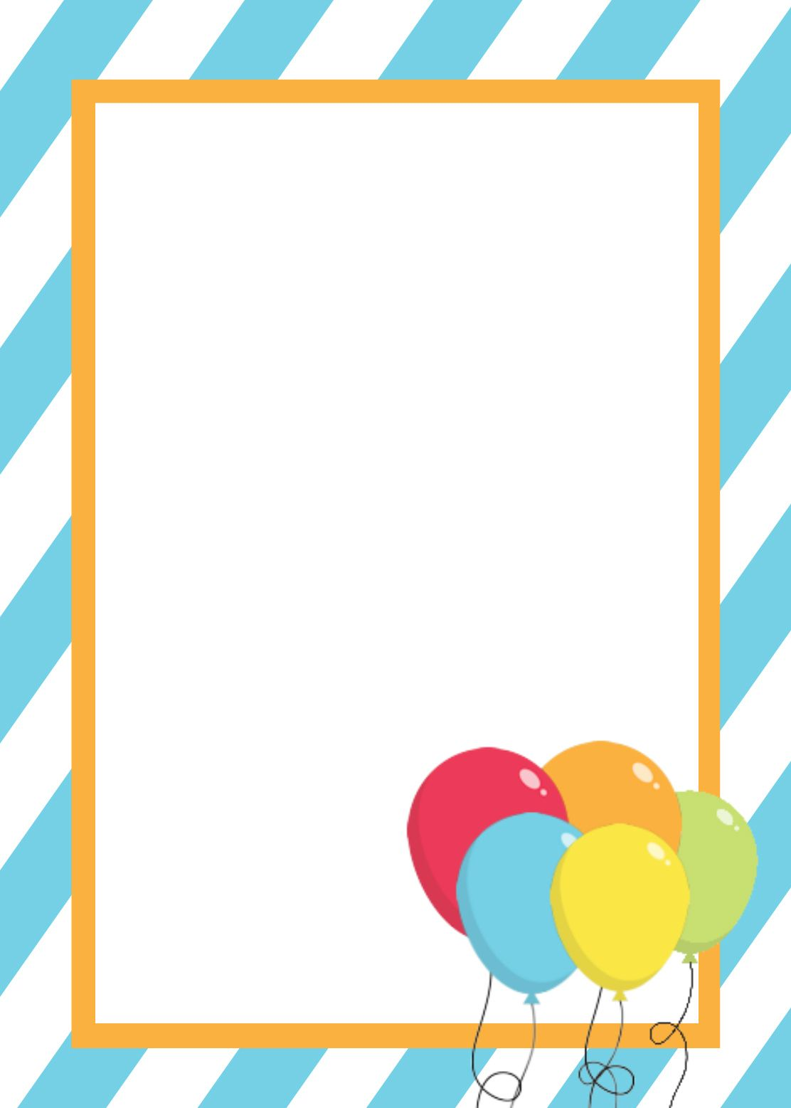 Free Birthday Invitation Templates