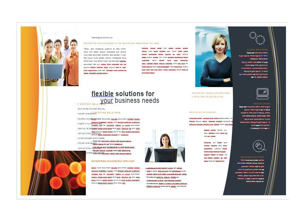 Free Brochure Templates Word