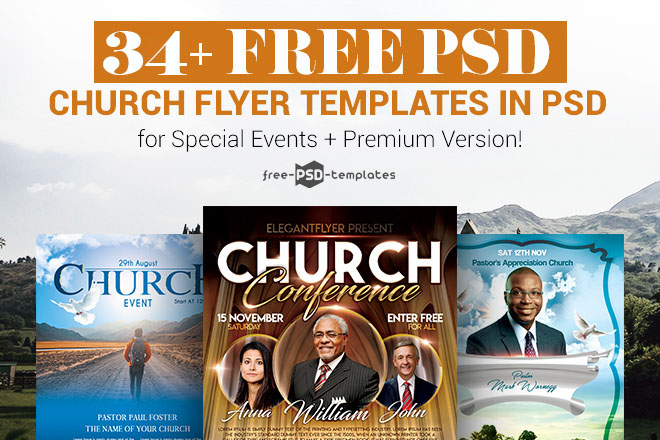 Free Church Flyer Templates