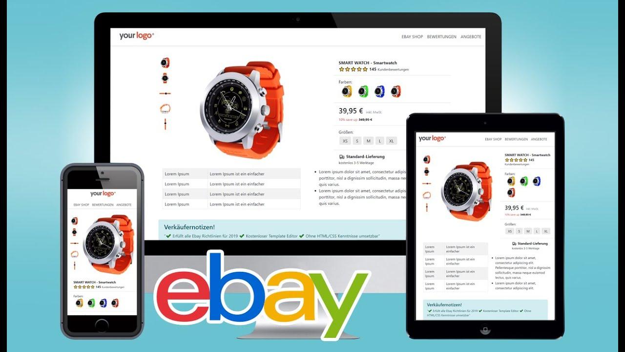 Free Ebay Listing Templates 2019