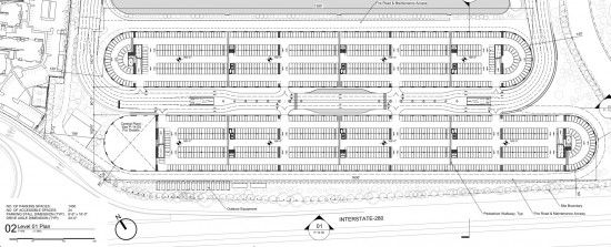 Free Parking Lot Layout Template