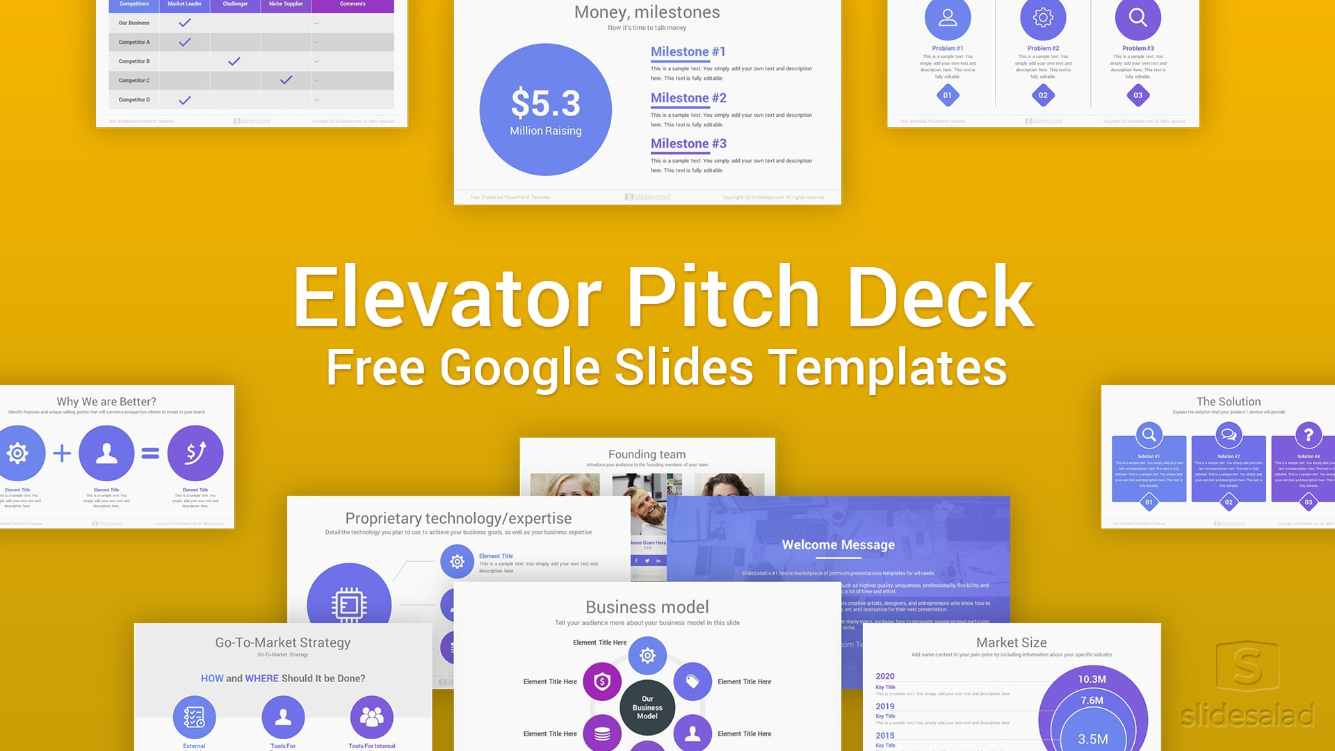 Free Pitch Deck Template Google Slides