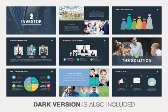 Free Pitch Deck Template Keynote