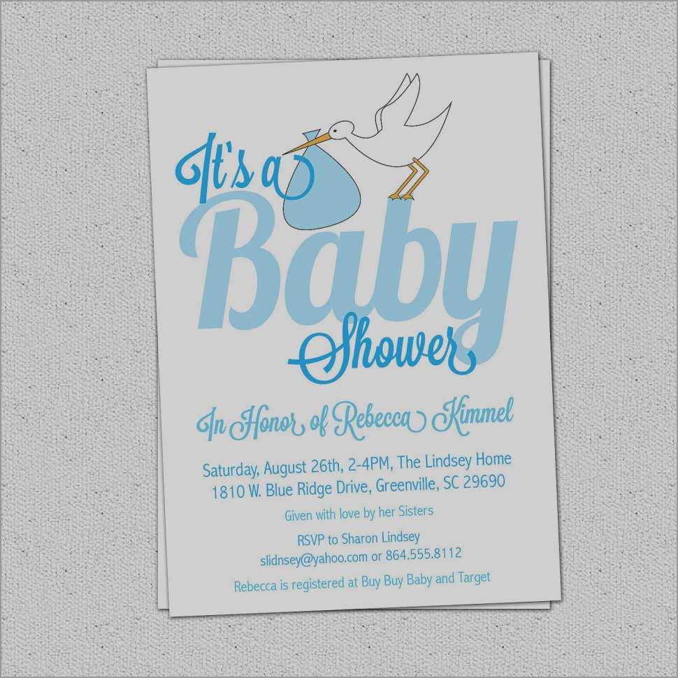 Free Printable Baby Shower Invitations Templates For Boys New Elegant Free Printable Baby Shower Invitations