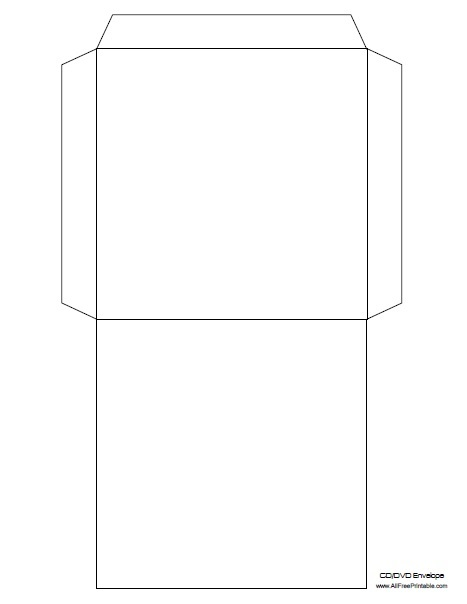Free Printable Cd Sleeve Template