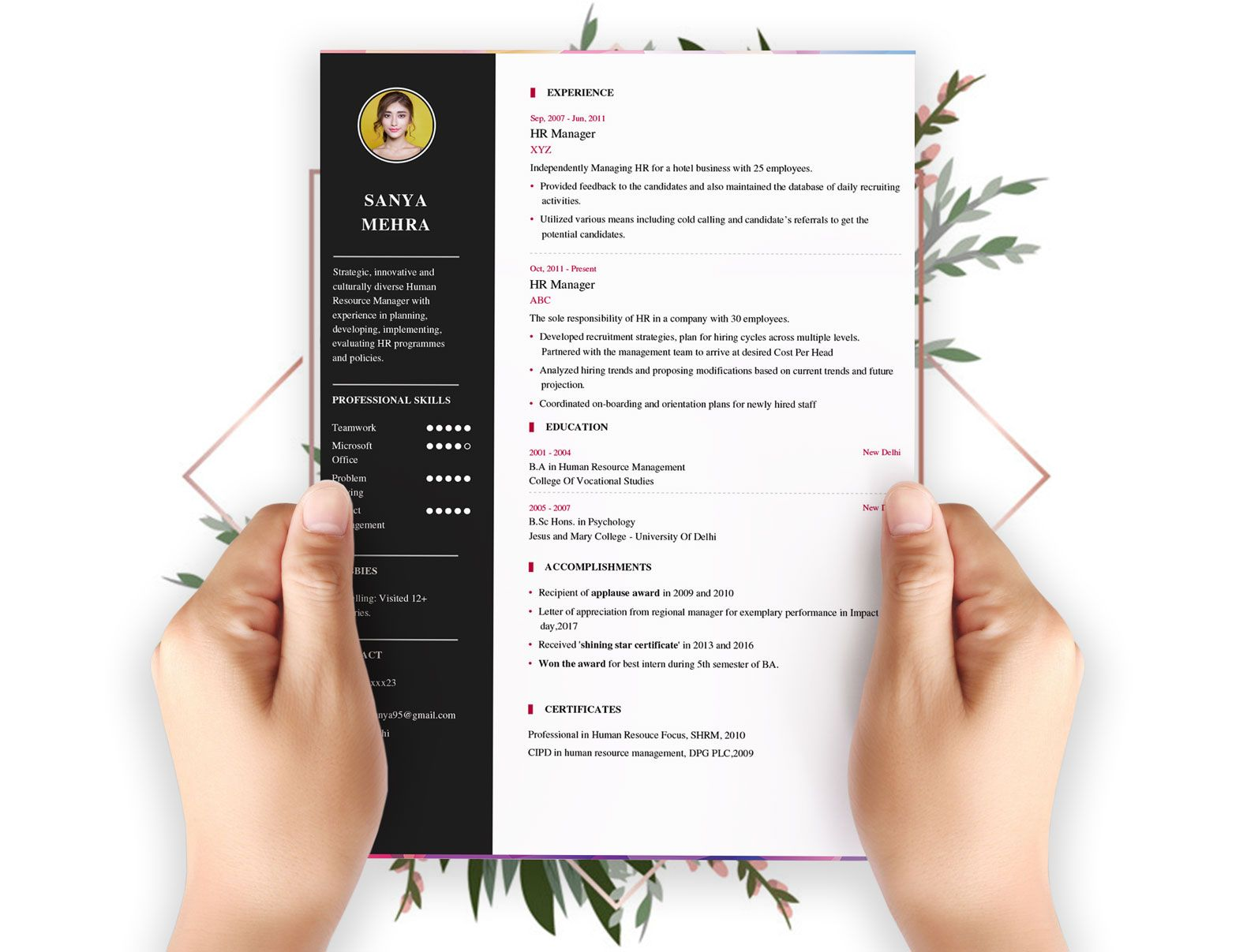 Free Resume Builder Free Download
