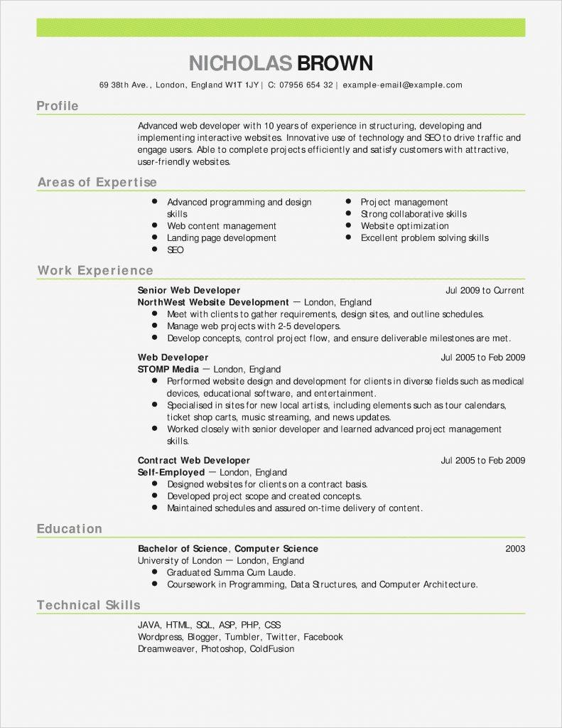 Free Resume Builder Software Download