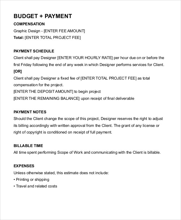 Graphic Designer Freelance Contract Template