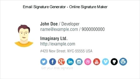 Html Email Signature Template Apple Mail