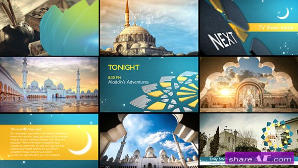 Islamic After Effects Templates Free