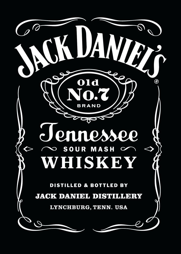 Jack Daniels Label Template