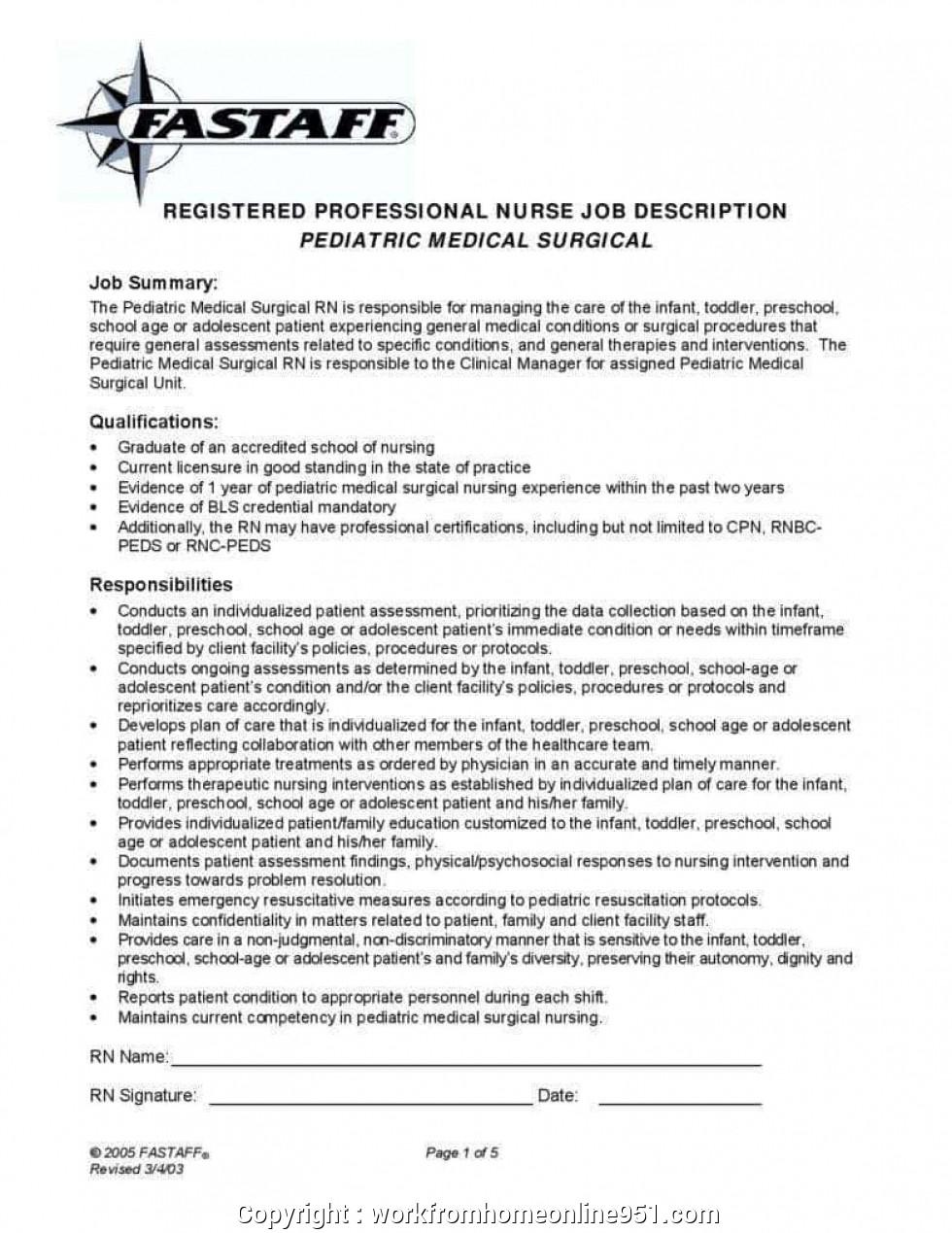 Job Description Template Shrm