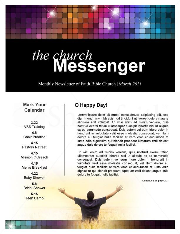 Mailchimp Church Newsletter Templates