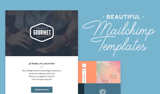 Mailchimp Templates Design