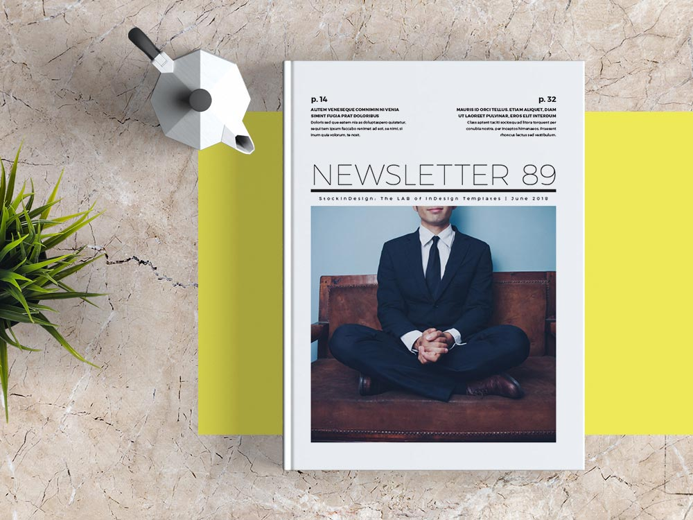 Newsletter Template Indesign Free