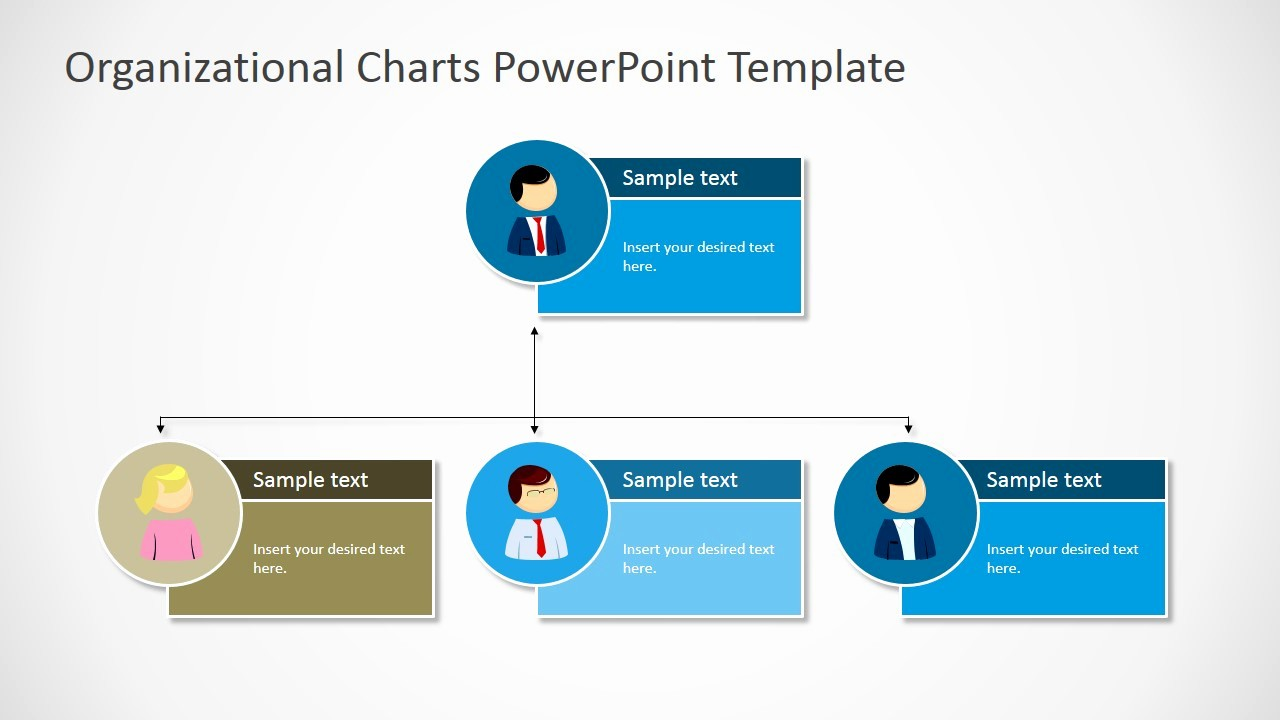 Organizational Chart Template Ppt