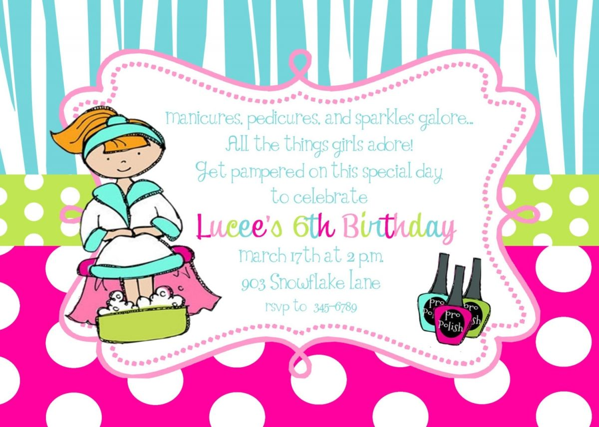 Party Invitation Templates Free Printable