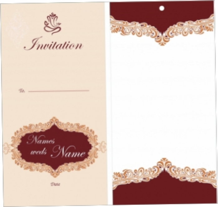 Blank Wedding Invitation Templates The Awesome Web Free Printable