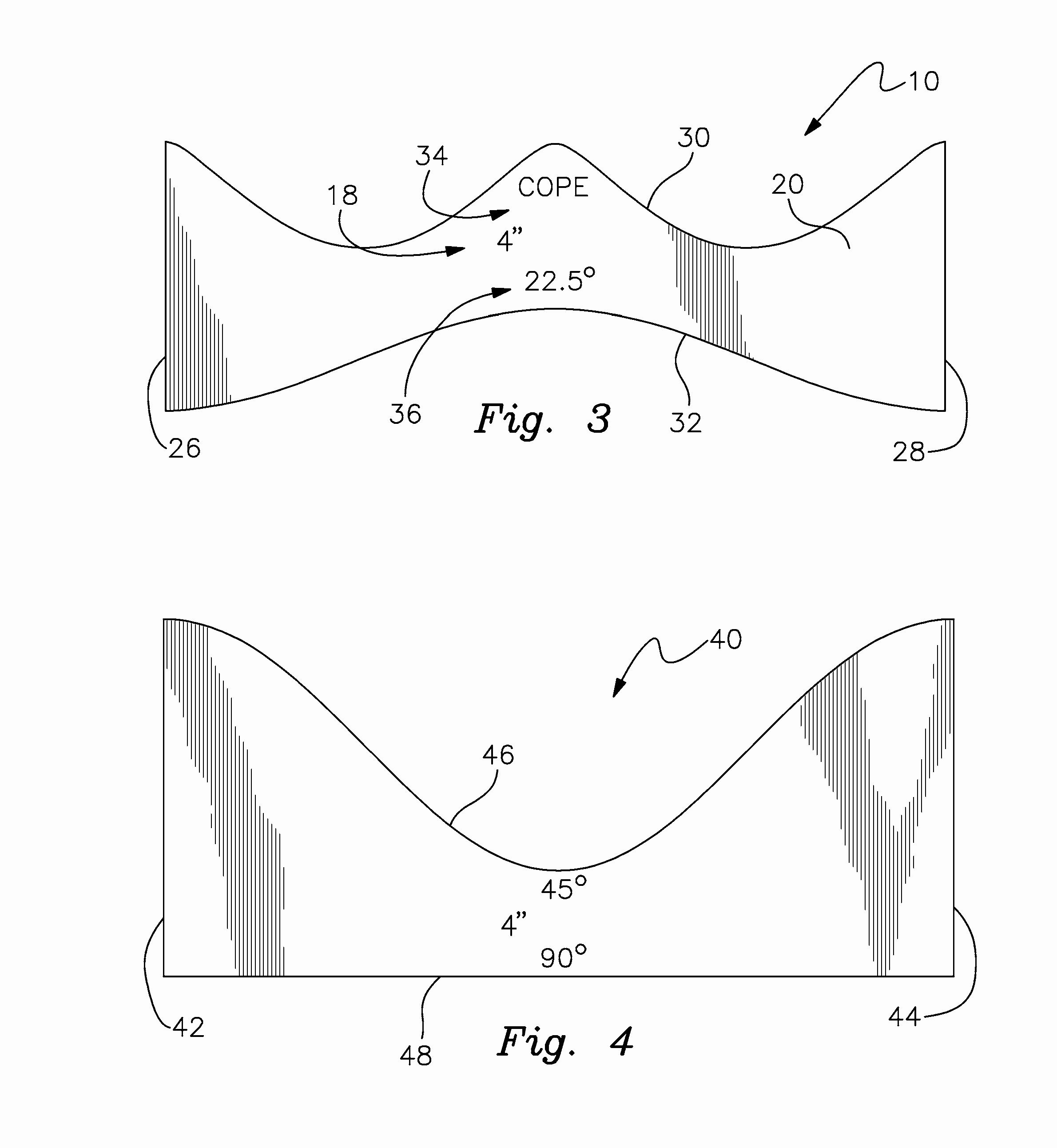 Printable Pipe Saddle Templates