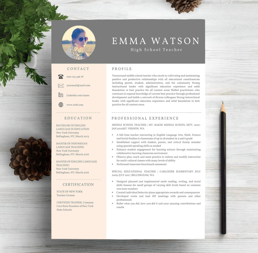 Printable Resume Templates 2019