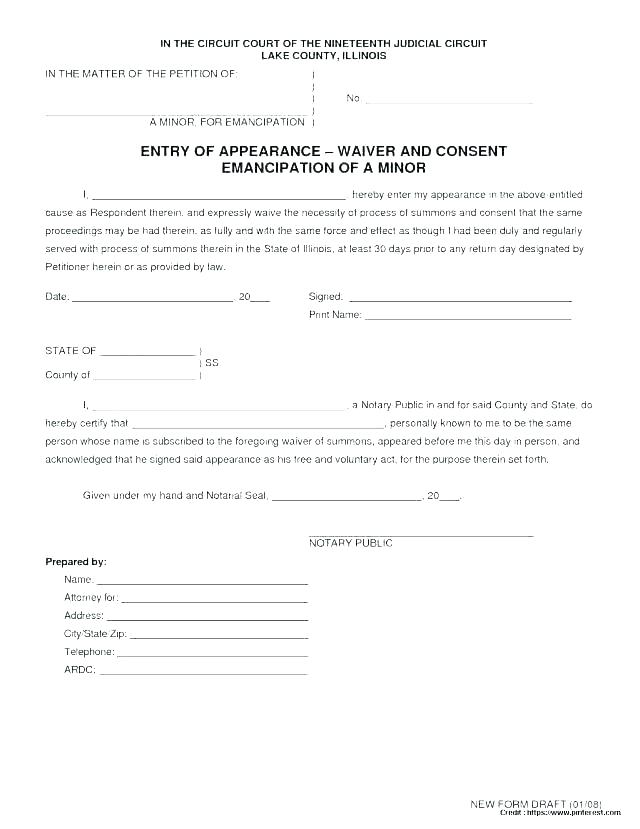Public Liability Waiver Template