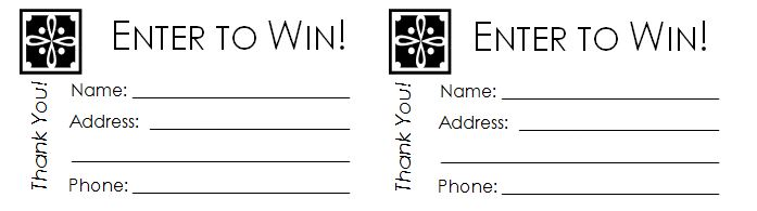 Raffle Ticket Template Editable
