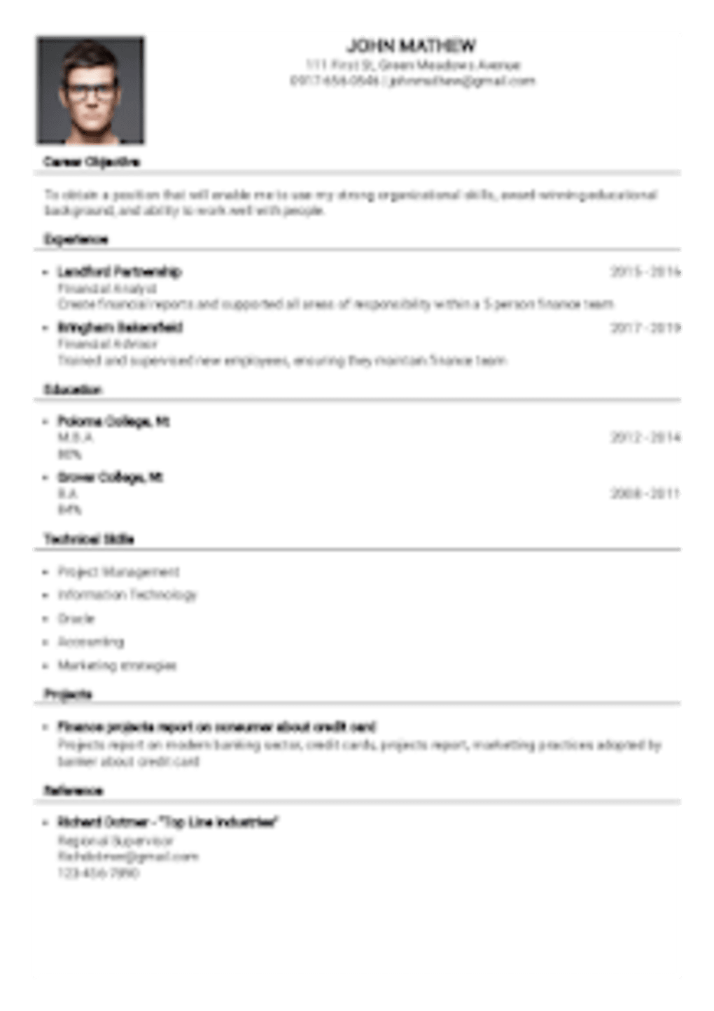 Resume Builder For Free Download