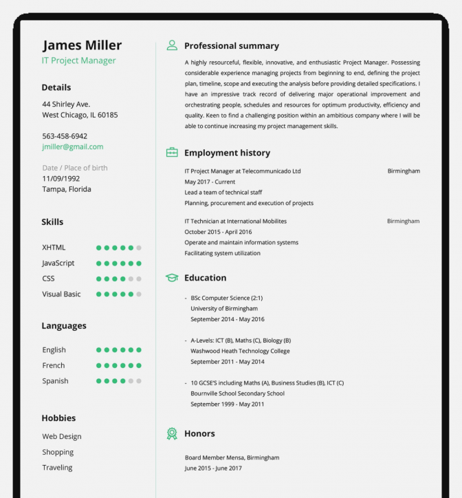 Resume Builder Software Download